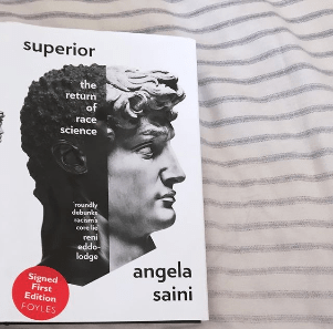 "The cover of the book ""Superior: The Return of Race Science"" by Angela Saini"
